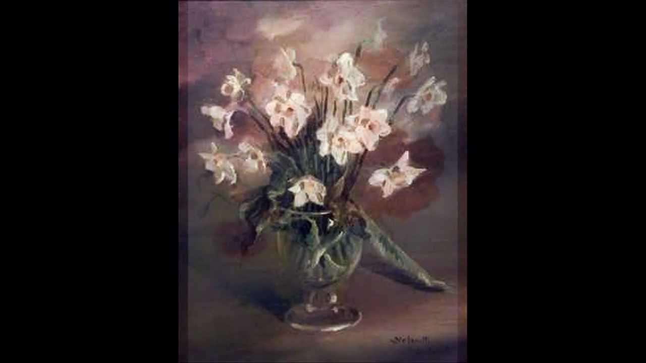 Dipingere i fiori di mario youtube for Immagini di fiori dipinti
