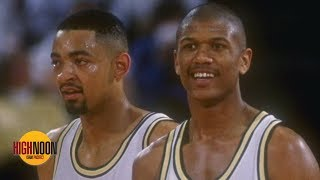 The Fab Five are 'cultural icons' and Juwan Howard reuniting them matters - Bomani Jones | High Noon
