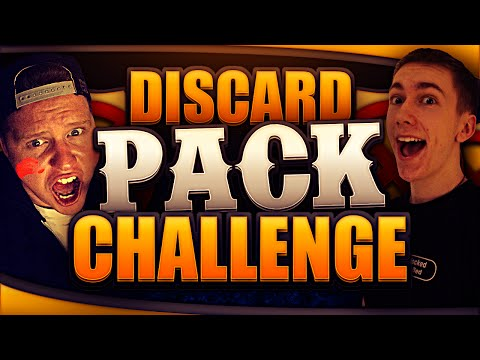 DISCARDING TOTS | TOTS Discard Pack Challenge With Ethan