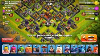 Clash of Clans - F.A.C.E.R.O.L.L. (Attack Strategy)