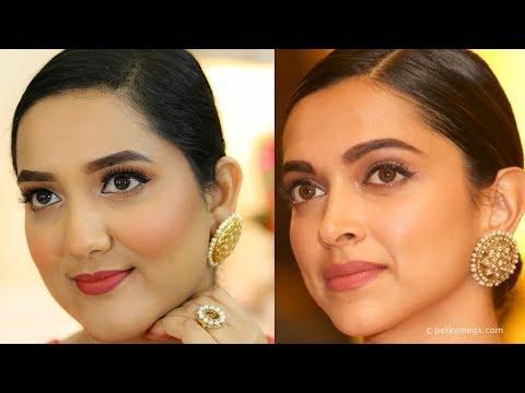 Deepika Padukone Makeup Tutorial | Bollywood Makeup | Perkymegs