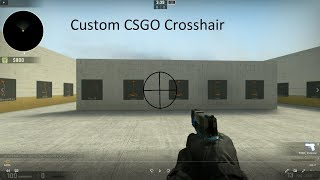 Csgo dot crosshair command video clip