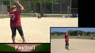 Morgan Rudolph Pitching Softball Skills