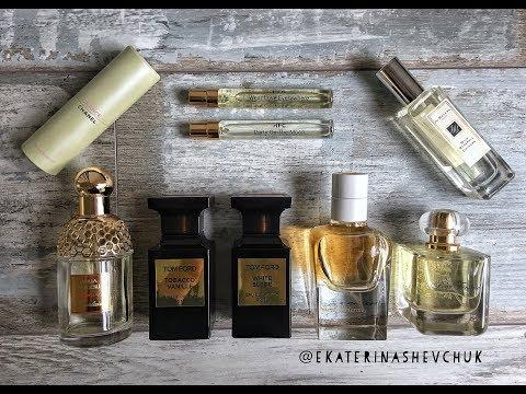 Ekaterina Shevchuk Мои любимые парфюмы: Tom Ford, Guerlain, Chanel, Jo Malone, Hermes, HFC