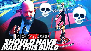 i should have made this build a while ago... nba 2k20 dribble god build