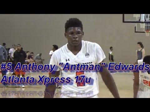 6'5 PG Anthony Antman Edwards Atlanta Xpress Shuts down Adidas Memorial Day Classic at Lake Point