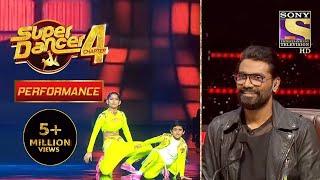 Sanchit के Performance ने किया Remo को Impress | Super Dancer 4 | सुपर डांसर 4