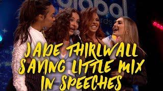 Gambar cover Jade Thirlwall SAVING Little Mix in SPEECHES