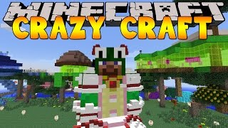 Minecraft Crazy Craft 3.0 : LITTLE LIZARD LOOKS LIKE A GIRL!! #49