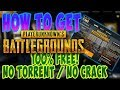 PLAYERUNKNOWN'S BATTLEGROUNDS FOR FREE / NO CRACK NO TORRENT / non steam