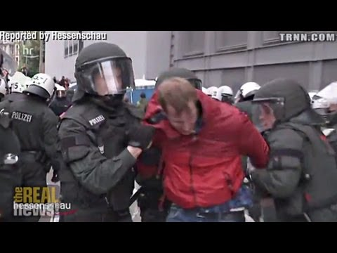 Police Brutality Against Blocupy Frankfurt Protest Makes Headlines
