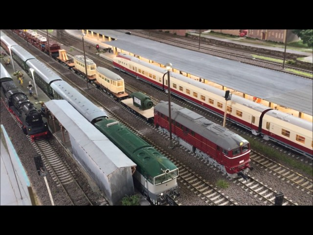 Miniatur Elbtal Bahn