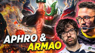 The Aphro/Armao duo was TOO STRONG!   Aphromoo
