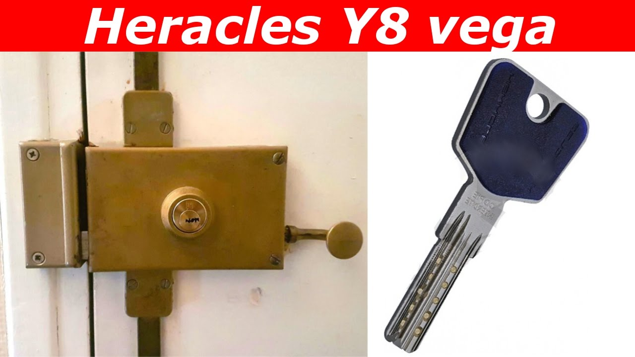 tuto comment changer une serrure heracles y8 vega youtube. Black Bedroom Furniture Sets. Home Design Ideas