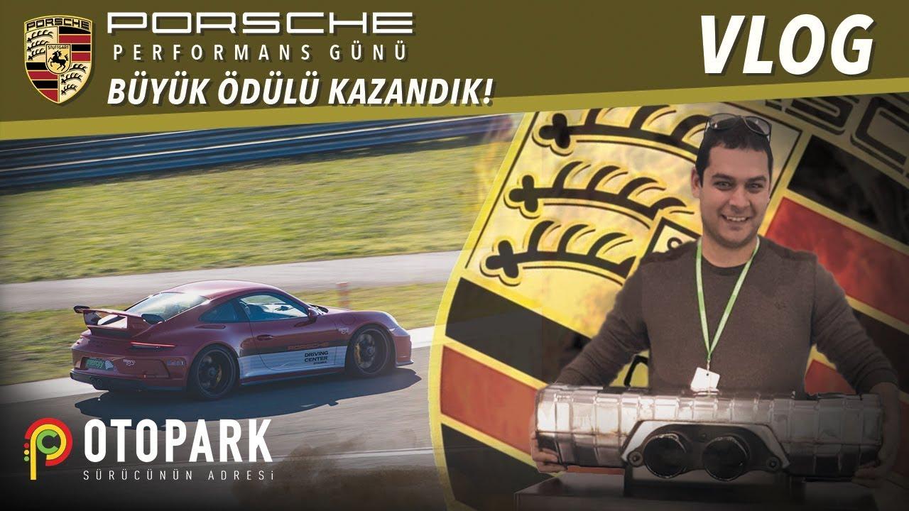 18.000₺'lik Büyük ödülü kazandık! | Atmosferik mucize GT3! | Porsche Performans Günü | VLOG