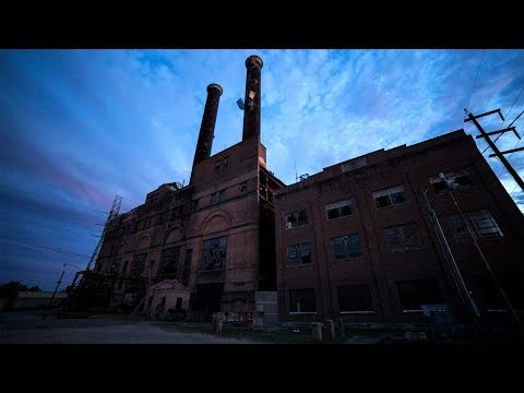 Set Off Loud Alarms at Abandoned Power Plant