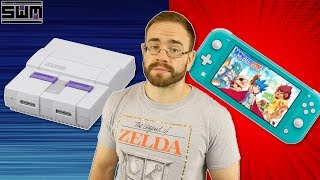 Nintendo, It's Time For SNES Games And The Switch Lite Could Have Unique Game Features | News Wave