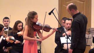 Ж. Акколаи, Концерт для скрипки с оркестром a-moll, 1 часть