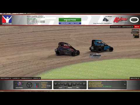 iRacing Dirt Midget @ Kokomo Speedway (9/5/18 Unofficial)