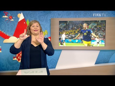 FIFA WC 2018 - GER Vs. SWE – For Deaf And Hard Of Hearing - International Sign