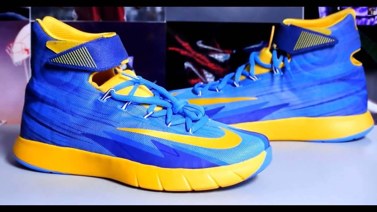 detailed look 2125a 8b4b4 Nike Zoom HyperRev - Vivid Blue University Gold Deep Royal Blue
