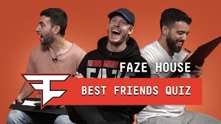 FaZe House Best Friends Quiz