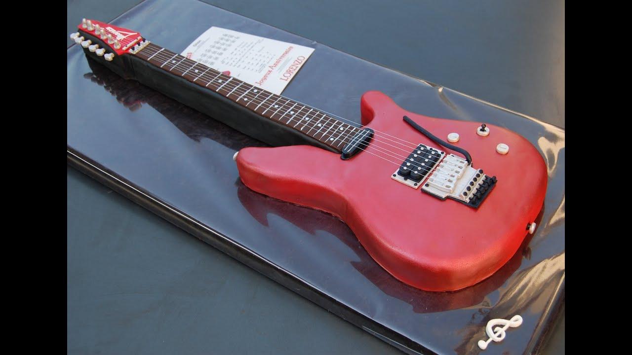 Bien connu Gâteau Guitare Ibanez Premium - YouTube GP53