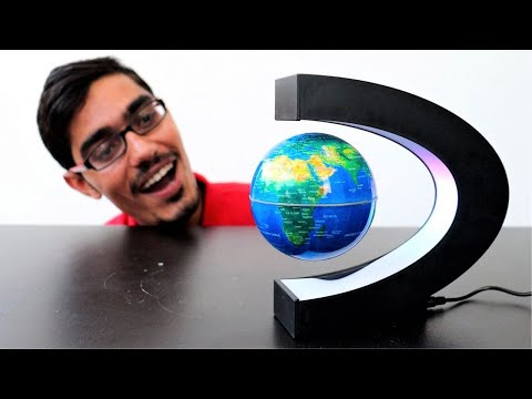 Unboxing Floating In Air Globe | Magical Levitating Globe