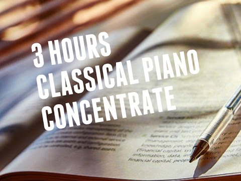 3 Hour Study Piano Music For Focus Studying Concentration & Relaxation - B Sides N°1