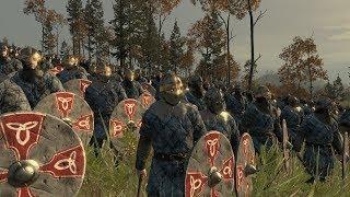 💀 Кампания за Викингов (Даны) Легендарная сложность #1 - Total War Attila 💀(1440p)