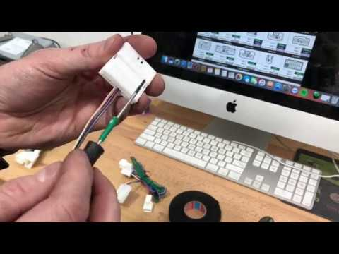 How To Wire Built In Kenwood OEM Steering Wheel Controls  Toyota  YouTube