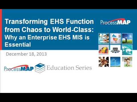 Webinar - Transforming EHS Function from Chaos to World Class - YouTube