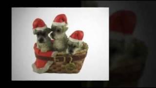 Schnauzer Christmas Tree Ornaments