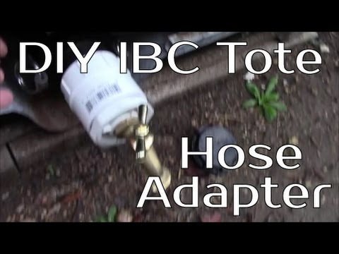 Building A Rain Catchment System Part 4 Ibc Tote To