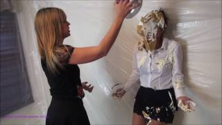 Secretary pied and humiliated by boss