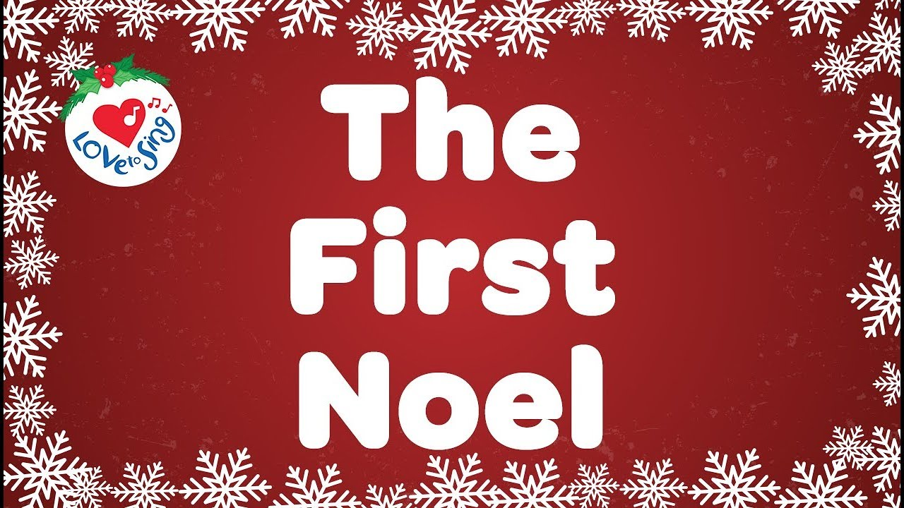 The First Noel with Lyrics | Christmas Song & Carol