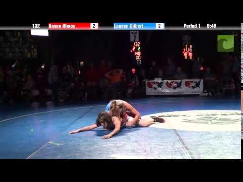 132 lbs. 7th  Haven Olmos CA vs. Lauren Gilbert TX