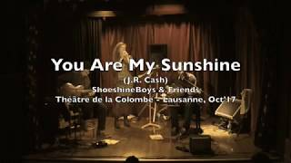 The Shoeshine Boys - You Are My Sunshine