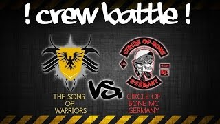 TSOW vs. CIRCLE OF BONE MC GERMANY [FULL HD] [CREWBATTLE #001]