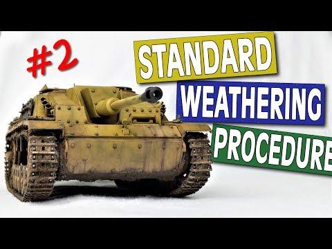 Standard Weathering Procedure Ep.2 - STUG G  (Full Weathering Tutorial)