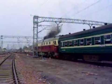 Chinese diesel loco DF4D 0379