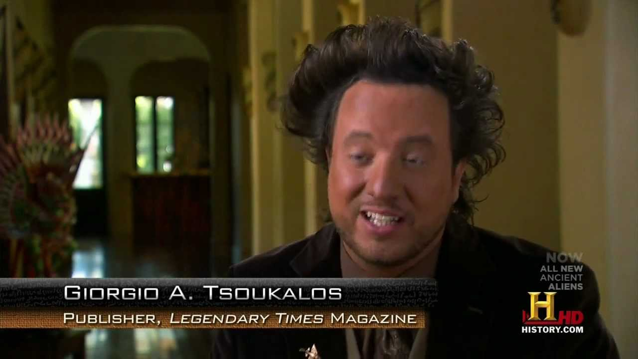 Giorgio Tsoukalos on guardians of the sky - YouTube