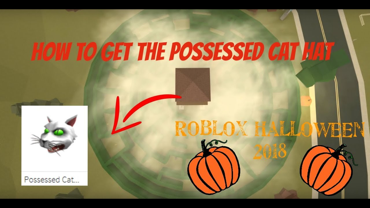 How To Get The Possessed Cat Hat Robloxian Highschool Roblox