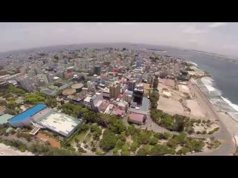 Drone Day - DJI Phantom 2 - Male Maldives