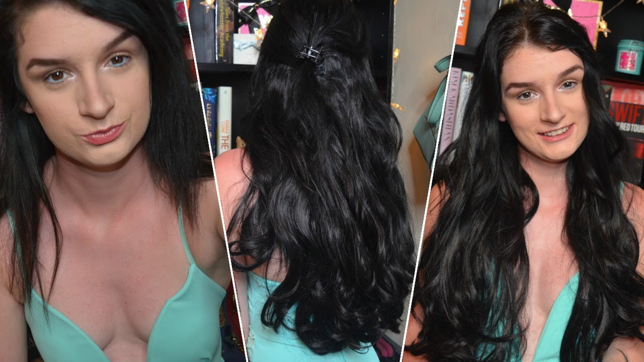 First Impression Lullabellz Wavy Hair Extensions Francesca Byrne