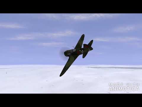 Перехват на Ла-5Ф в игре Ил-2 штурмовик