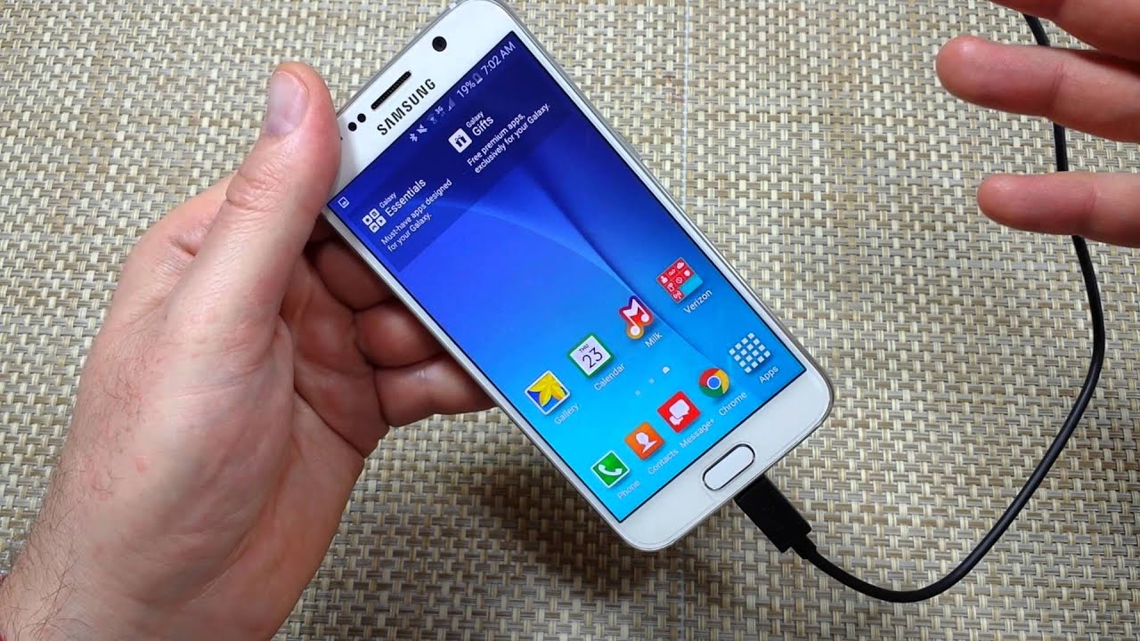 Samsung Galaxy S6 How to change your Home Screen