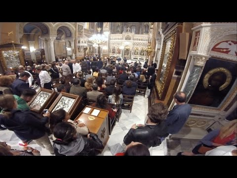 Easter in Athens - Metropolitan Cathedral
