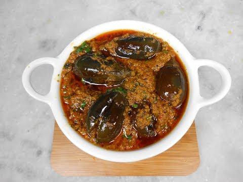Baingan masala recipe | Bharwa baingan | Brinjal curry recipe I Punjabi food | भरली वांगी