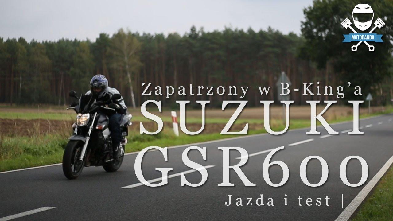 Download Suzuki GSR 600 Baby B-King na częściach GSXR Test. Sportowy Naked Opinia - Motobanda